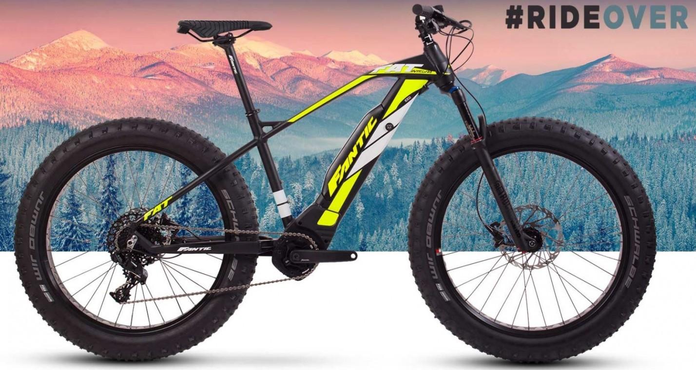 Electric Fat Bike >> Fantic Fat Sport Integra 2019 Electric Fat Bike