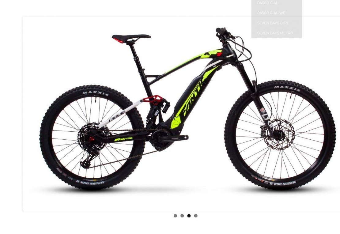 Fantic XF1 Integra 180 2020 Electric Bike