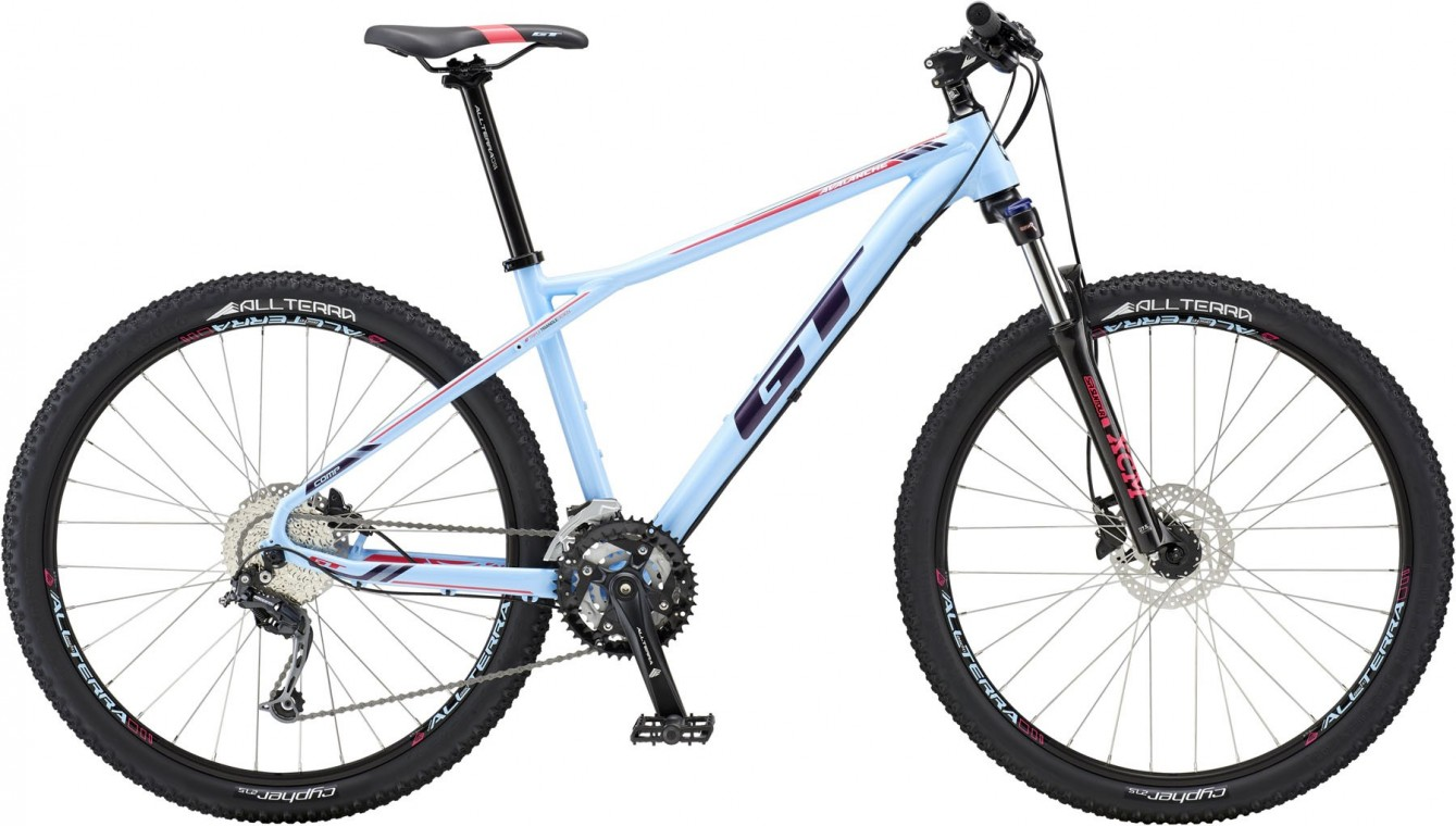 Avalanche Comp, 2018 - Ladies Hardtail mountain bike 27.5, Silver