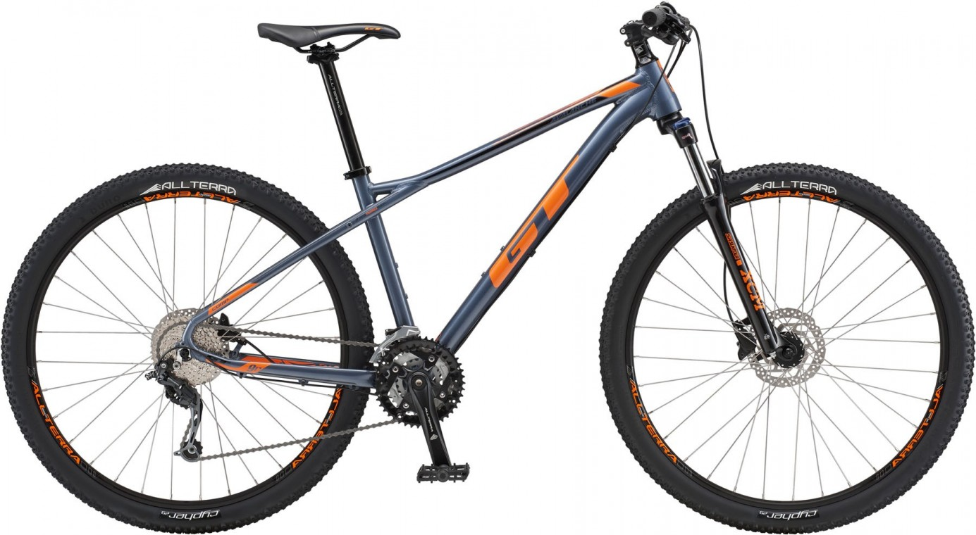 GT Avalanche Comp, 2018 - Hardtail mountain bike 27.5/29, Silver