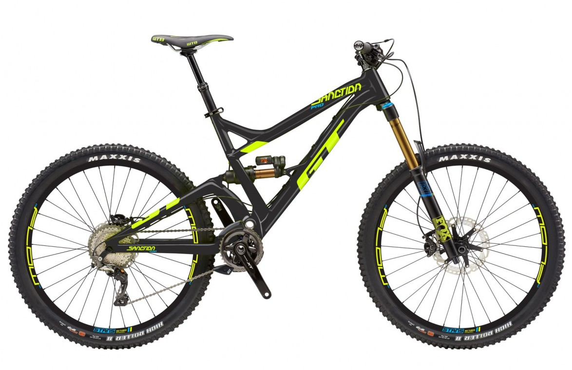 GT Sanction Pro 2018 Full Suspension Mountain Bike (click to zoom)