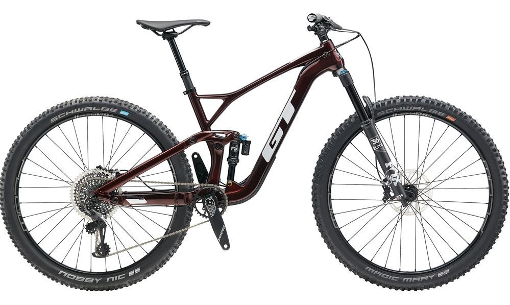 GT Sensor Crb Pro - Bike 2020 Full Suspension Mountain Bike (click to zoom)