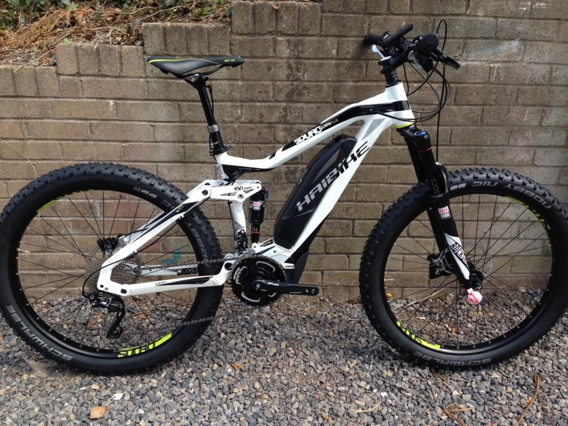 haibike sduro allmtn plus 2016 electric mountain bike. Black Bedroom Furniture Sets. Home Design Ideas