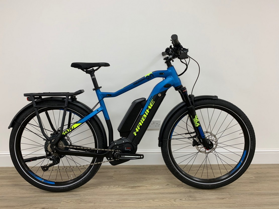 Haibike SDURO Trekking 9 0 Dual Battery Mens 2019 - Bosch Electric Bike