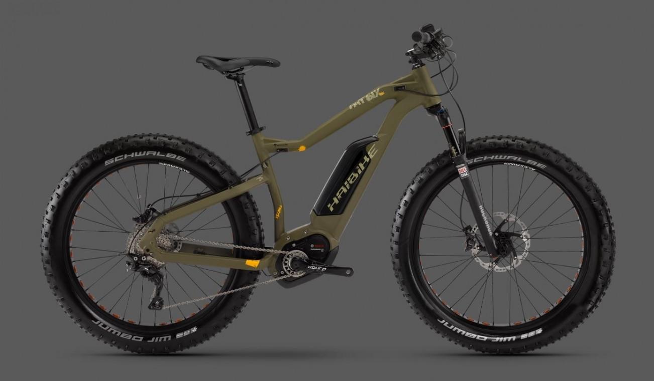 haibike xduro fatsix rx 2016 electric fat bike. Black Bedroom Furniture Sets. Home Design Ideas