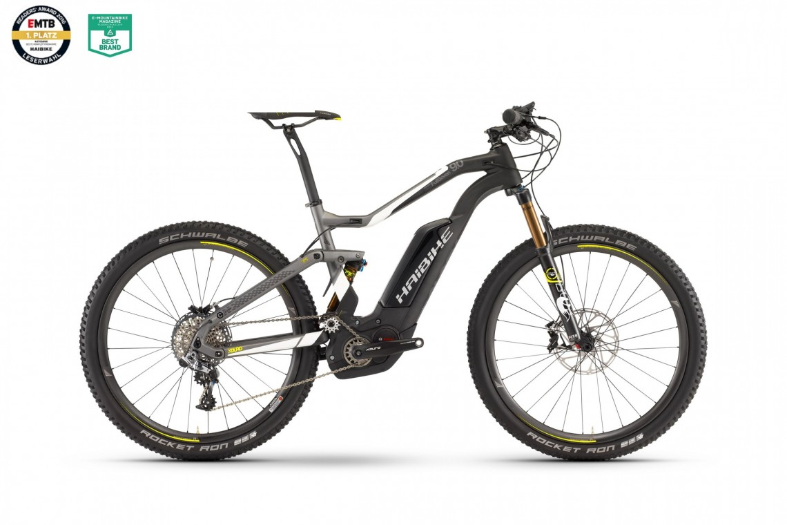XDURO FullSeven Carbon 9.0 500 2017 - Bosch Electric Full Sus Bike