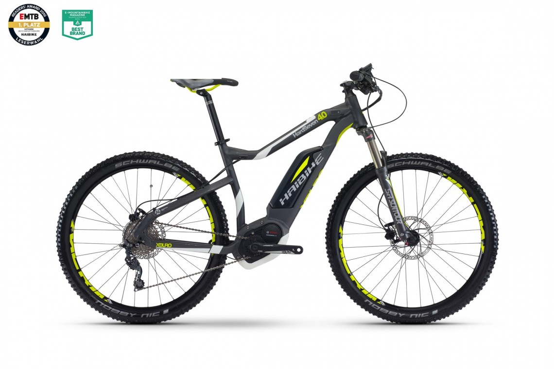 XDURO HardSeven 4.0 400 - Bosch Electric Bike 2017
