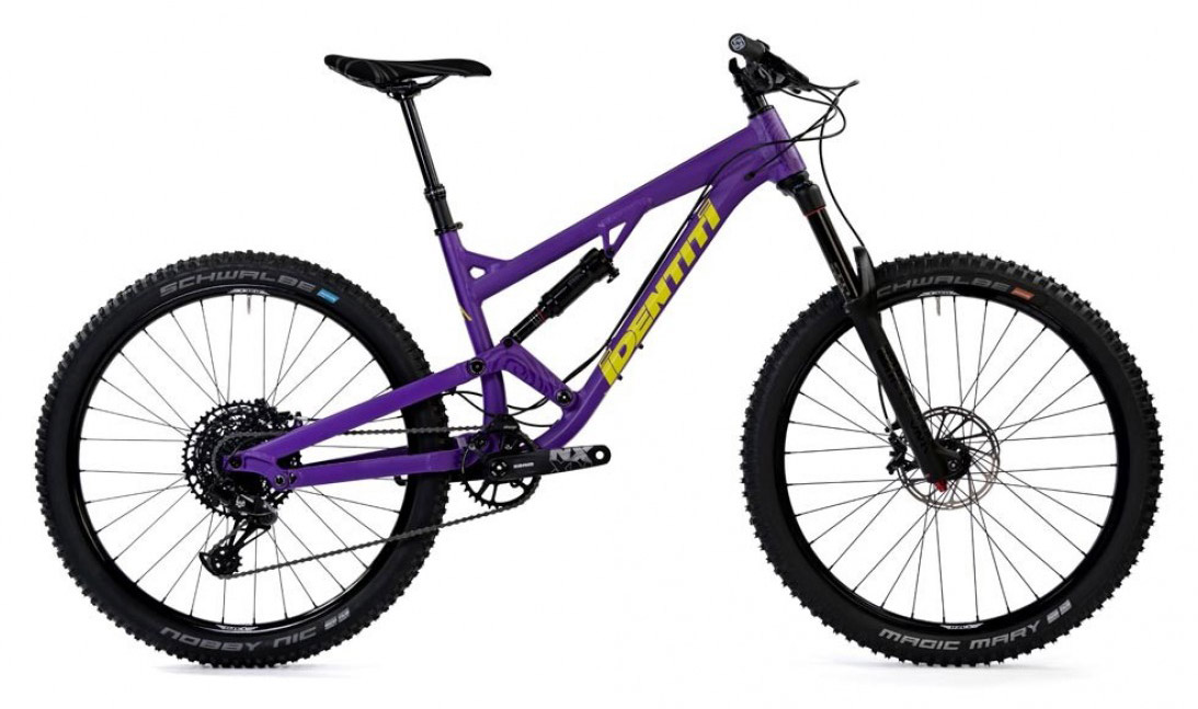 Identiti Mettle R - Mountain Bike 2019 Full Suspension Mountain Bike