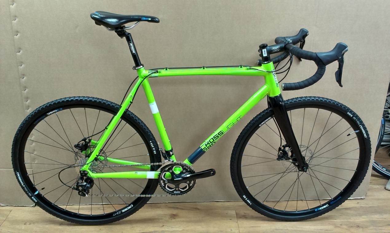 Kinesis Crosslight Pro 6 Green 2015 - Cyclocross Road Bike