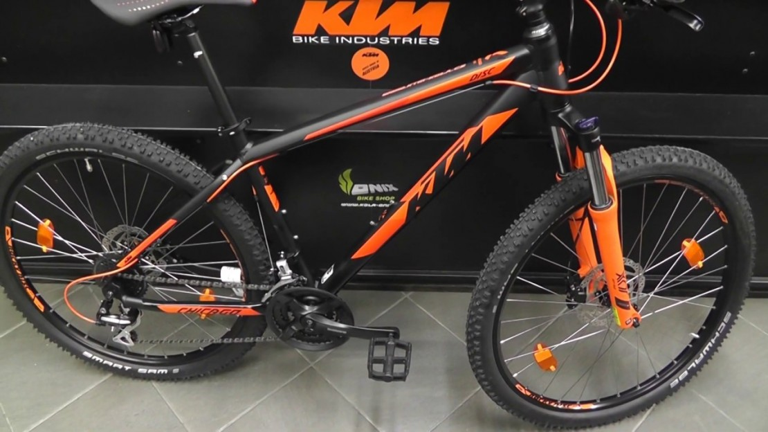 KTM Chicago Disc 27 2020 Hardtail Mountain Bike (click to zoom)