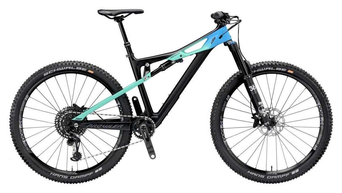 Prowler Master 12 2019 - Full Suspension Bike