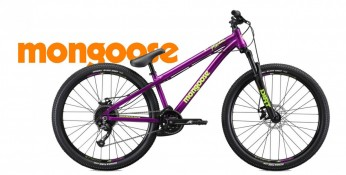 Mongoose Fireball purple 2019 - Dirt Jump Bike