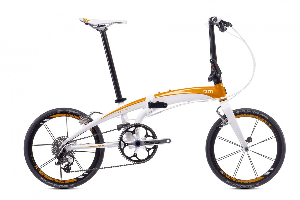 Tern Verge X10 - Folding Bike 2017