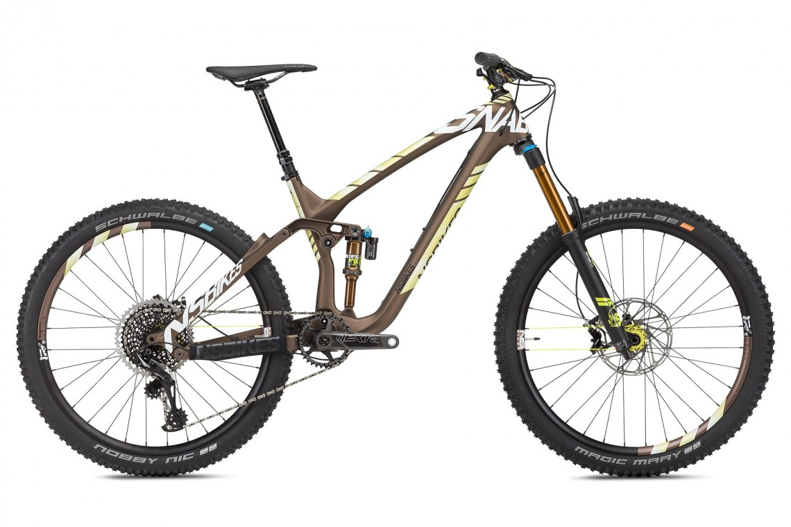 Snabb C1 160 2018 - Full Suspension Bike