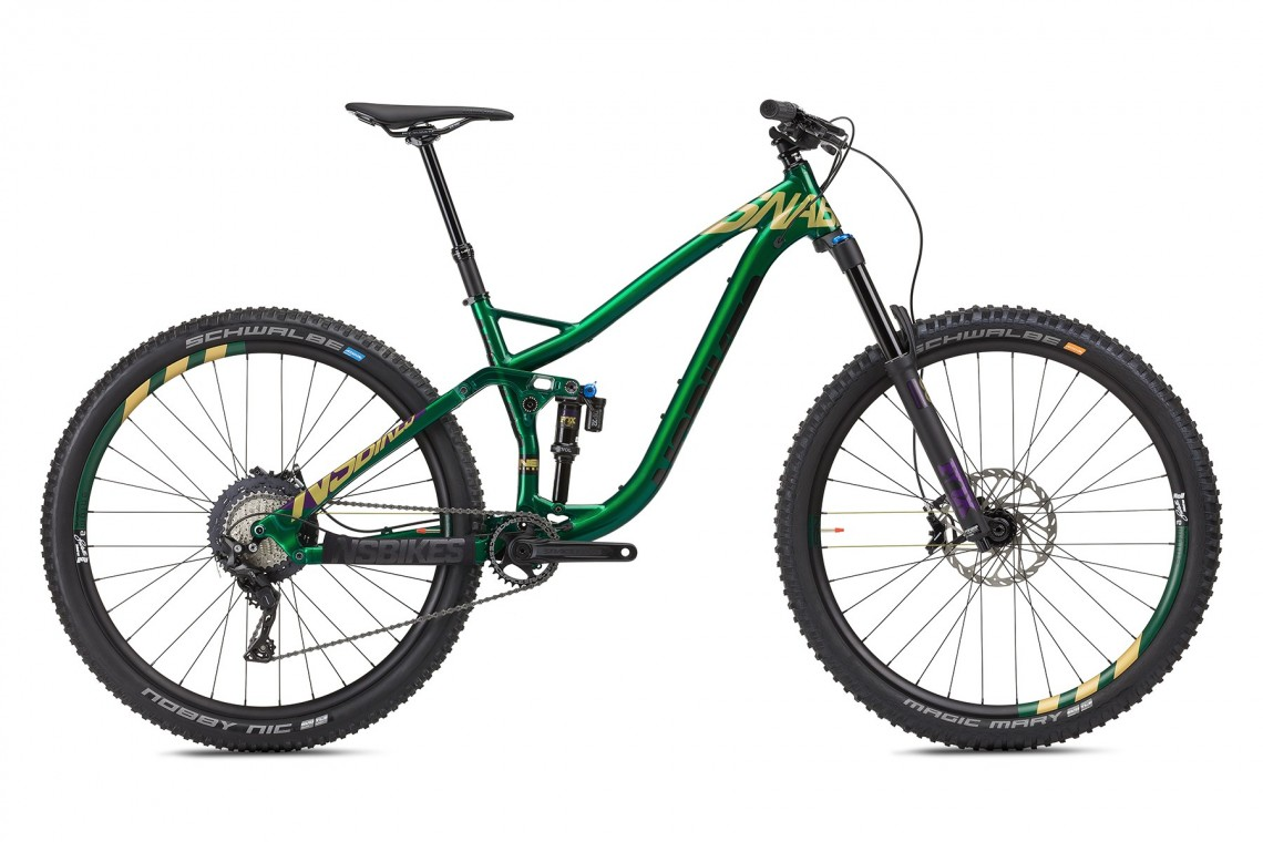NS Snabb Plus1 150 BIKE 2018 - Full Suspension Bike