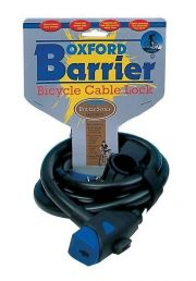Oxford Barrier Chunky Cable Lock Locks - Cable