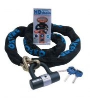 Oxford HD Chain And Mini Lock Locks - Chain Lock