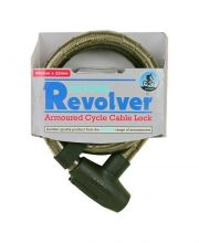 Oxford Revolover Armoured Cable Lock Locks - Cable