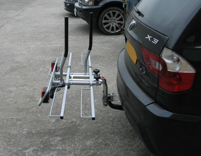 2 Bike Tilting Wheel Support Bike Rack 2014
