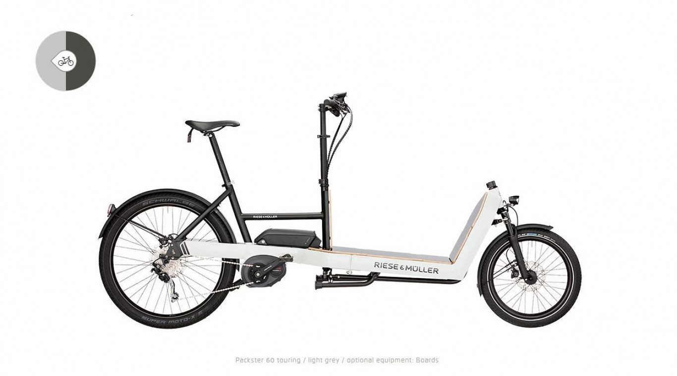 Packster 60 City 2019 -Electric Cargo Bike