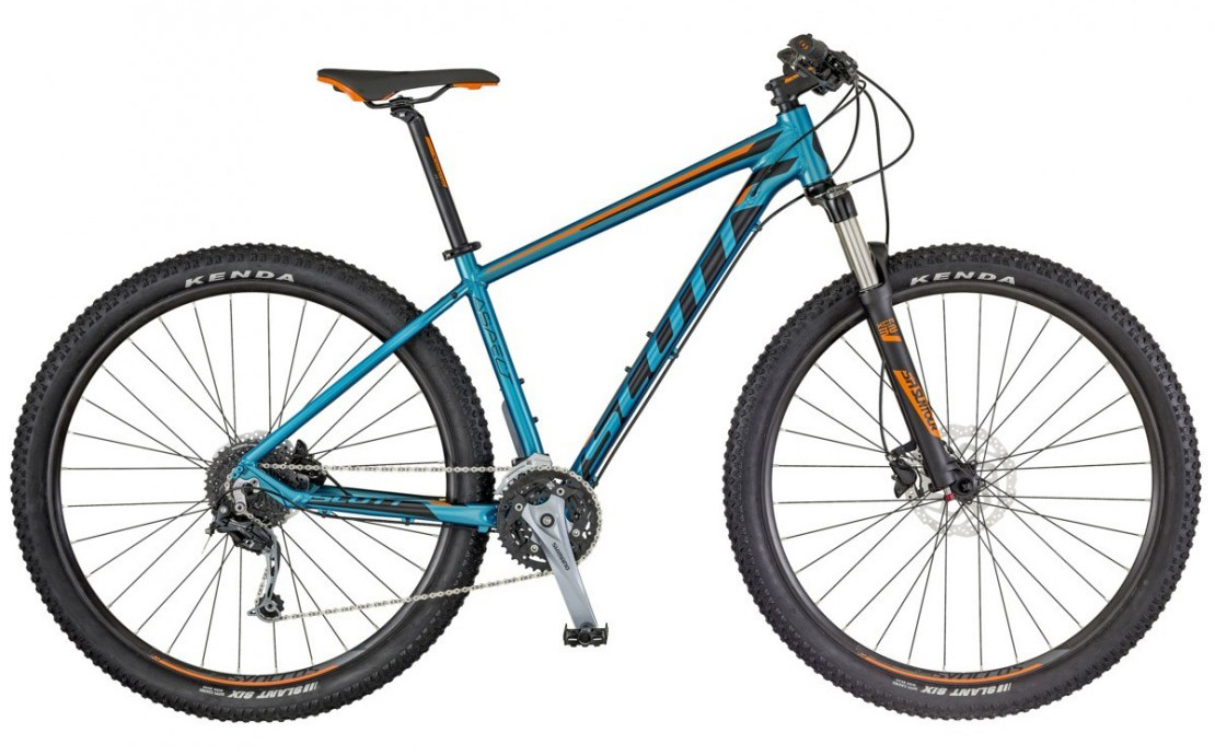 Aspect 730 blue-orange 2018 - 27.5 Hardtail Mountain Bike