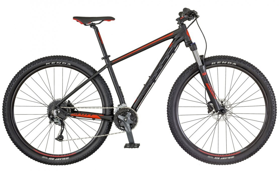 Aspect 740 black-red 2018 - 27.5 Hardtail Mountain Bike
