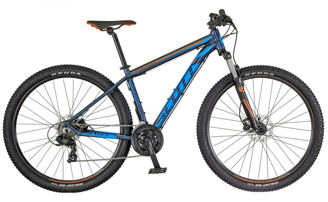 Aspect 960 2018 blue-orange - 29er Hardtail Mountain Bike