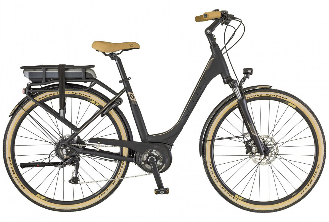 E-Sub Active Unisex - rack type, 2018 low-step electric bike