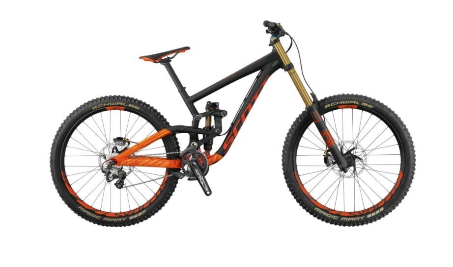 Scott Gambler 710 - Mountain Bike 2018 Full Suspension Mountain Bike