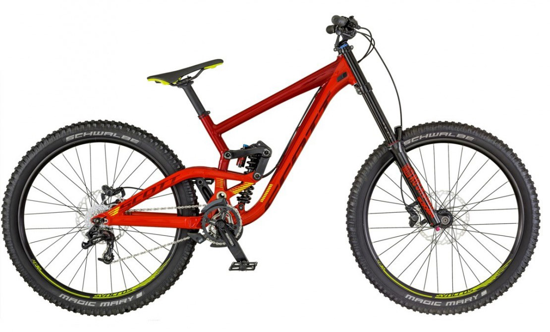 Scott Gambler 730 - Mountain Bike 2018 Full Suspension Mountain Bike