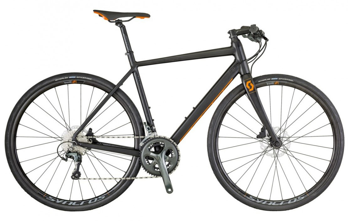 Metrix 20 disc 2018 - Flat Bar Hybrid Road Bike