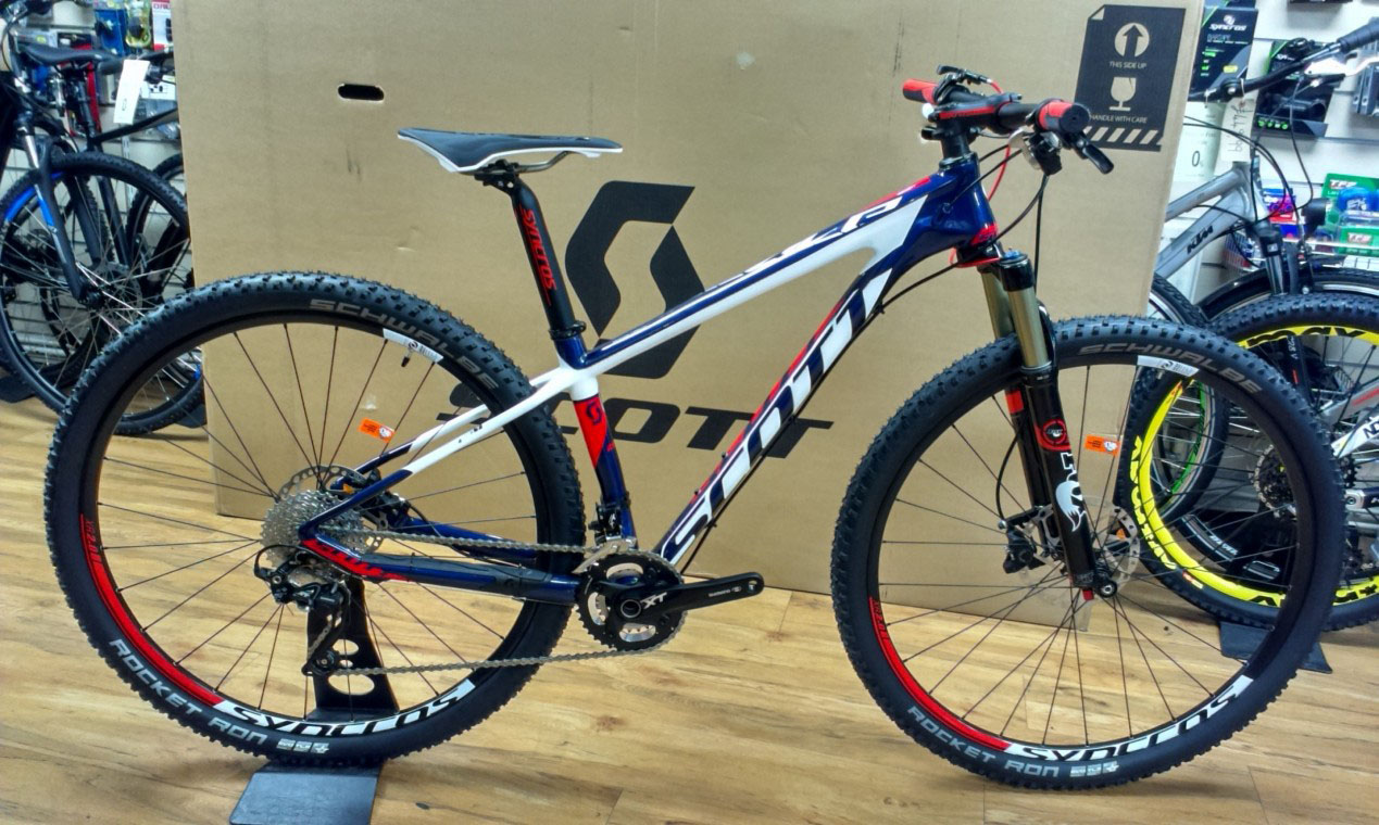 Scott Scale 910 2015 29er Mountain Bike Damian Harris