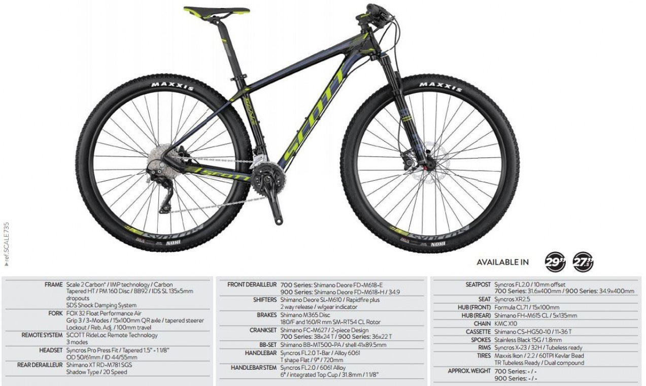 Scale 935 2017 - 29er Mountain Bike
