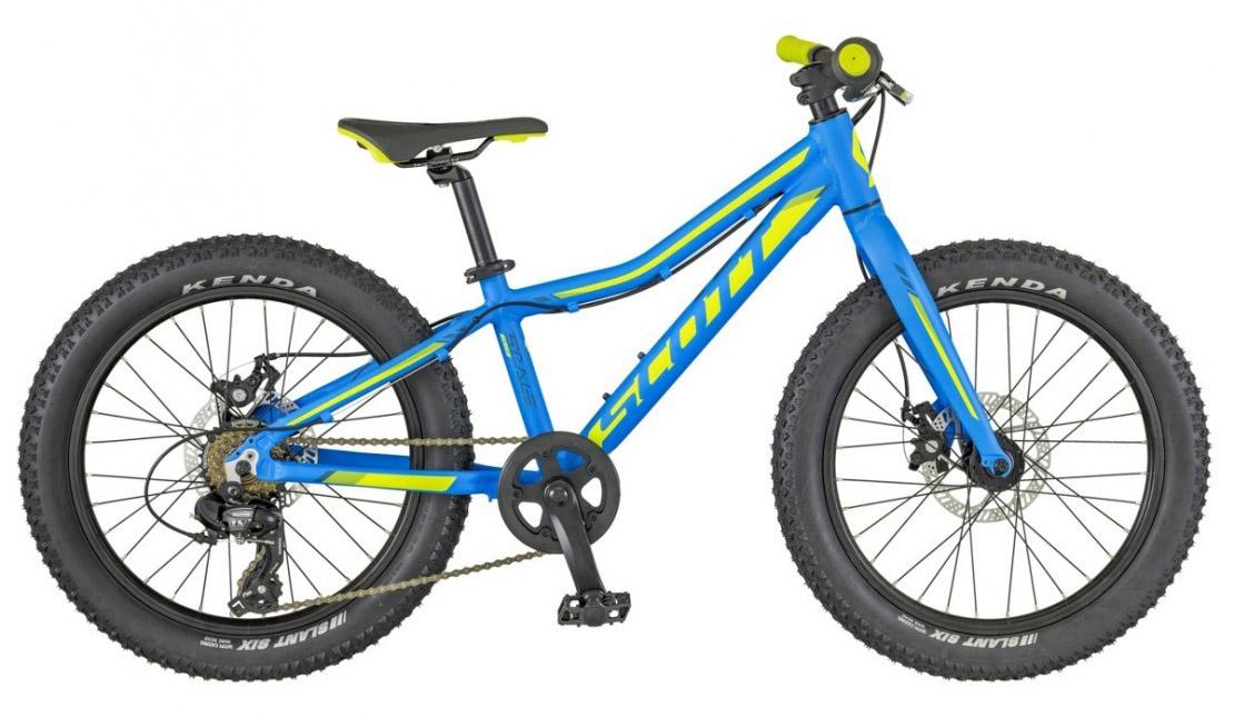 Scott Scale JR 20 Plus 2018 - Boys 20inch Kids Bike