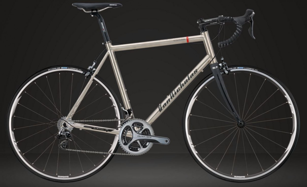 Aquilo Shimano Dura-Ace Build 2018 - Titanium Road Bike