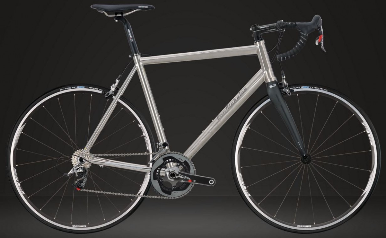 Van Nicholas Astraeus Sram Red - Titanium 2018 Road Bike (click to zoom)