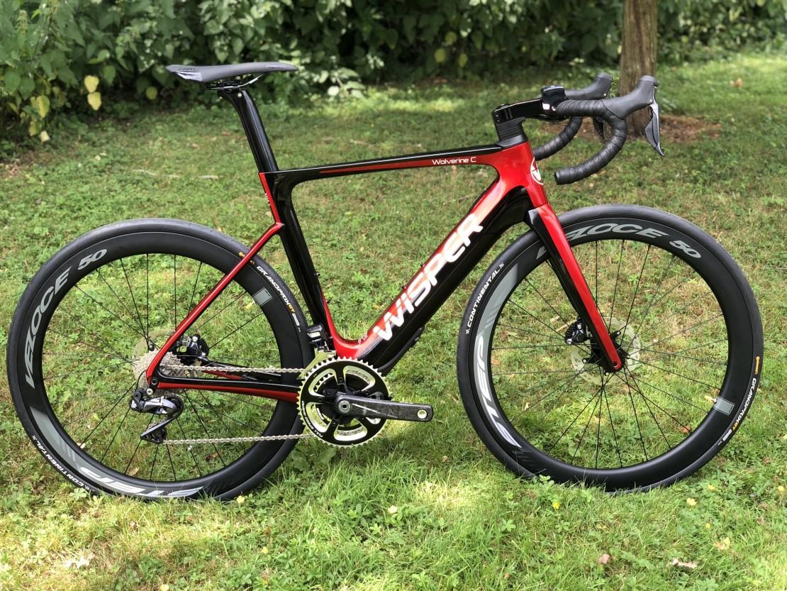 Electric Road Bike >> Wisper Wolverine Carbon 2019 Electric Road Bike